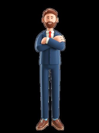 Businessman 3D Illustration