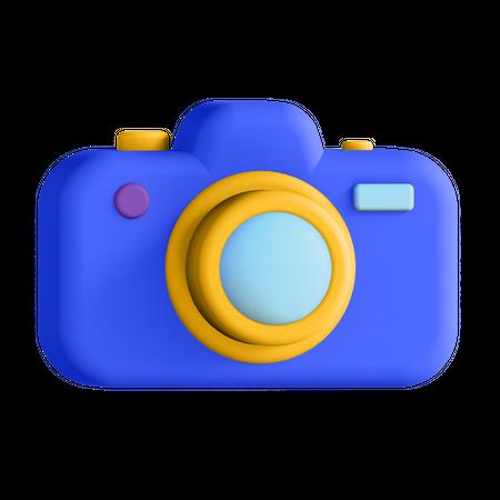 Camera 3D Illustration