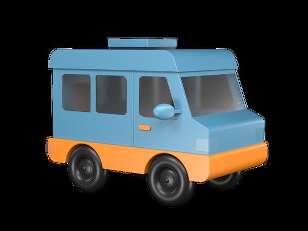 Car 3D Illustration
