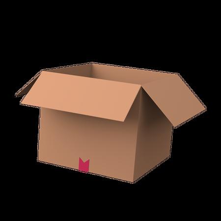 Carboard 3D Illustration