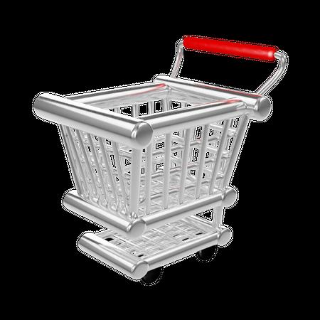 Cart 3D Illustration