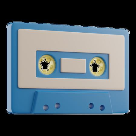 Cassette 3D Illustration