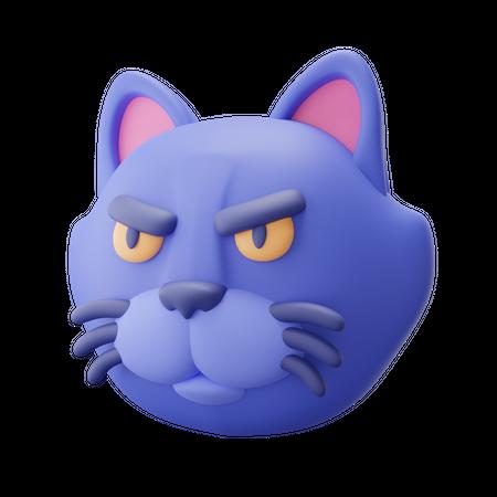 Cat 3D Illustration