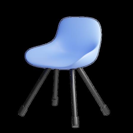 Chair 3D Illustration