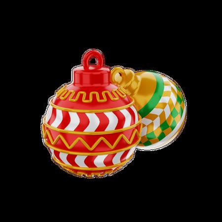 Christmas Ball 3D Illustration