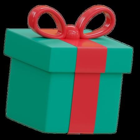 Christmas Gift 3D Illustration