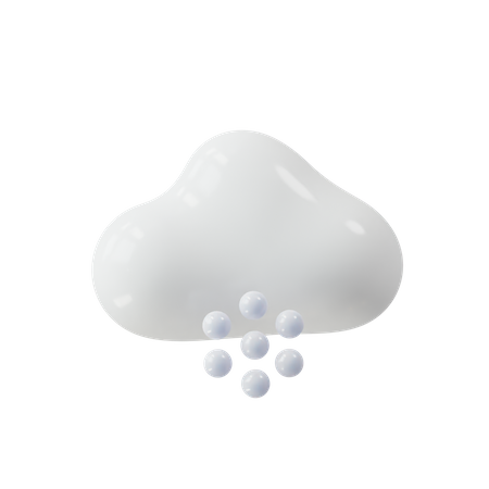 Cloud and fog 3D Illustration