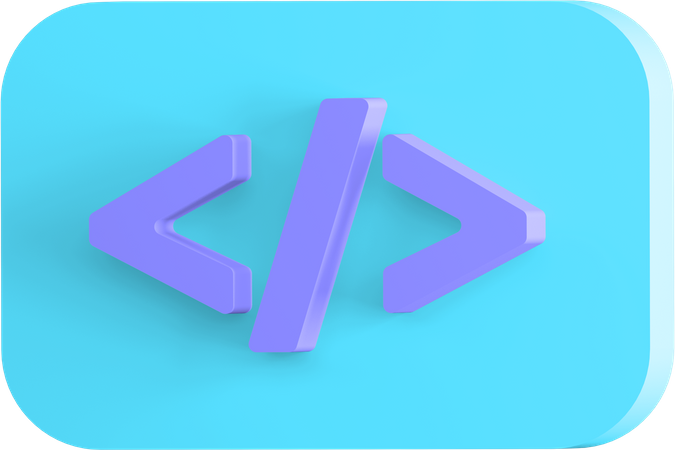 Code 3D Illustration