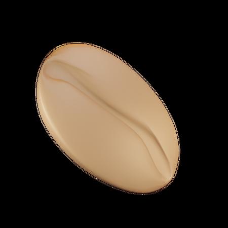 Coffee Bean 3D Illustration