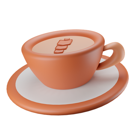 Coffee Cup 3D Illustration