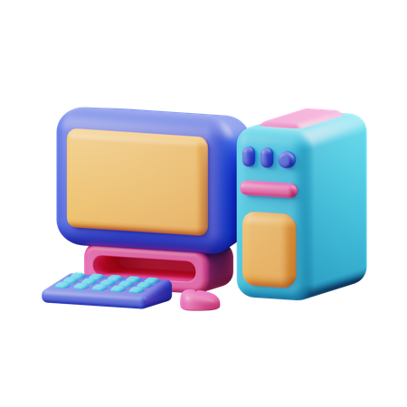 Computer 3D Illustration