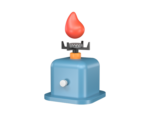 Cooking Stove 3D Illustration