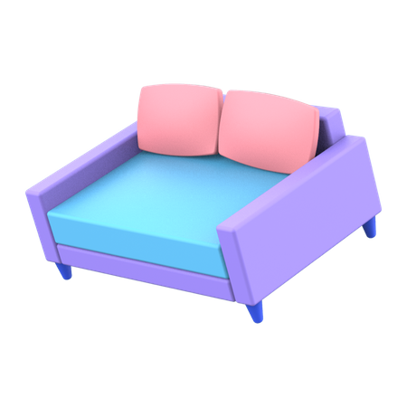 Couch 3D Illustration