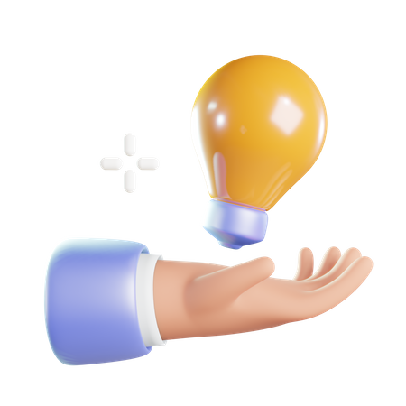Creative Idea 3D Illustration