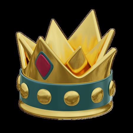 Crown 3D Illustration