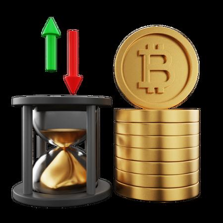 Crypto Trading 3D Illustration