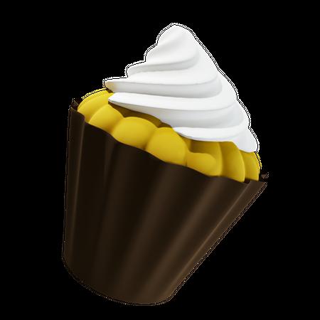 Cupcake 3D Illustration