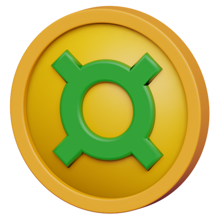 Currency Coin 3D Illustration