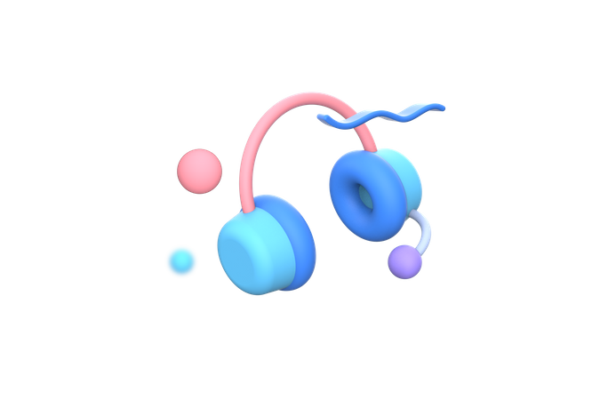 Customer support 3D Illustration