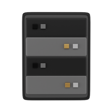 Database 3D Illustration