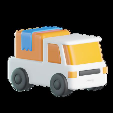 Delivery Truck 3D Illustration