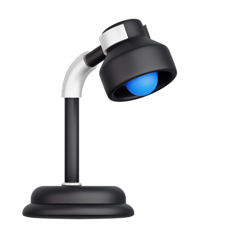 Desk Lamp 3D Illustration