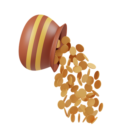 Dhanteras 3D Illustration