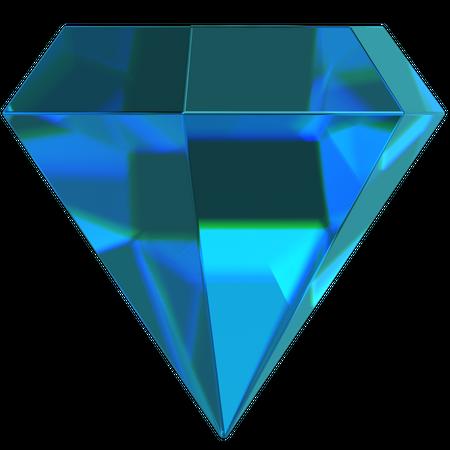 Diamond 3D Illustration