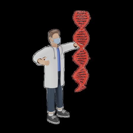 Doctor 3D Illustration