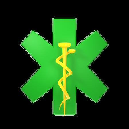 Doctor Sign 3D Illustration