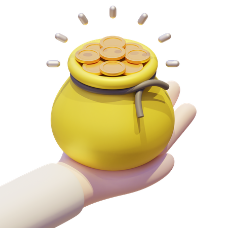 Donation 3D Illustration