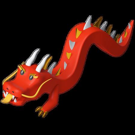 Dragon 3D Illustration
