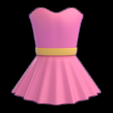 Dress 3D Illustration