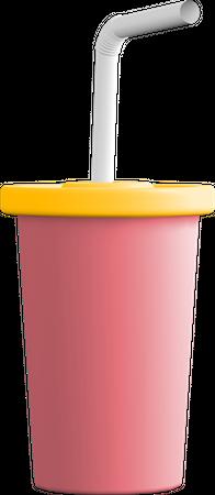 Drink 3D Illustration