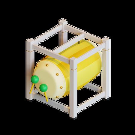 Drumset 3D Illustration