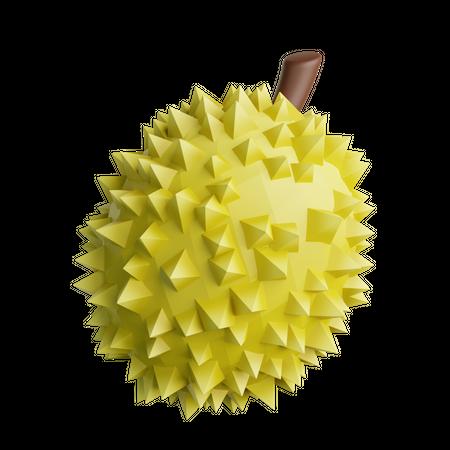 Durian 3D Illustration