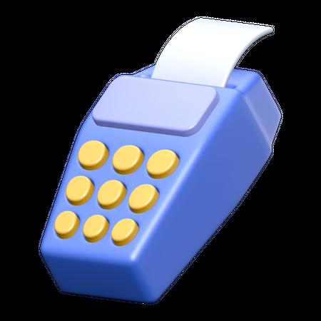 Edc Machine 3D Illustration