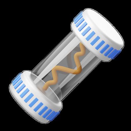 Electric Fuse 3D Illustration
