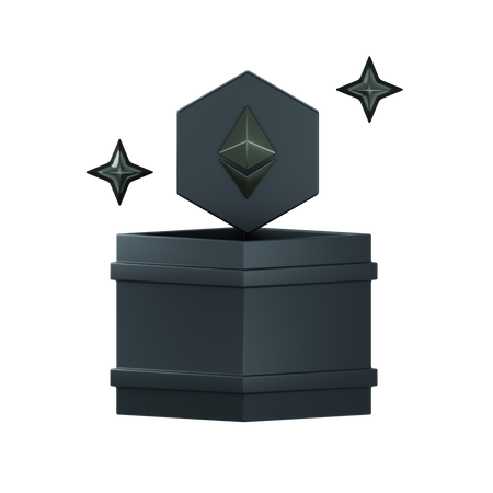 Eth Box 3D Illustration