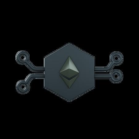 Eth Networking 3D Illustration