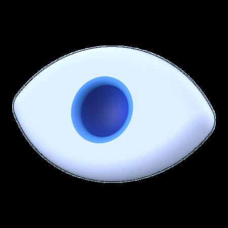 Eye 3D Illustration