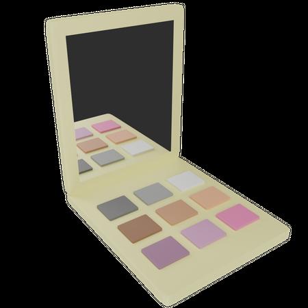 Eyeshadows 3D Illustration