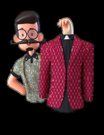 Fashion Designer 3D Illustration