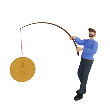 Financial planning 3D Illustration