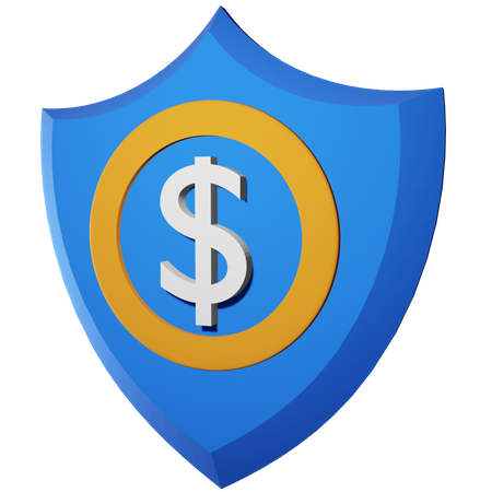 Financial Security 3D Illustration