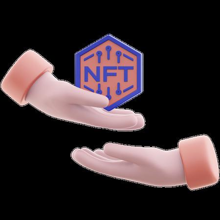 Free Nft 3D Illustration