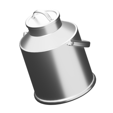 Gallon Milk 3D Illustration