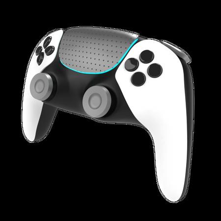 Game controller 3D Illustration