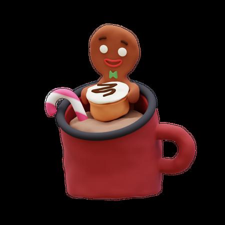 Gingerbread 3D Illustration