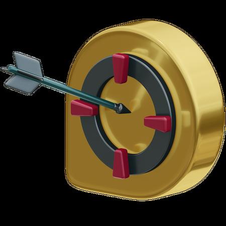 Goal 3D Illustration